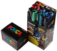 Uni POSCA Marker - SET PC-3M Fein (1.5mm) - 15er Box