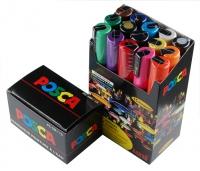 Uni POSCA Marker - SET PC-5M Medium (2.5mm) - 15er Box