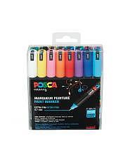 Uni POSCA Marker - SET PC-1MR Extra Fein (0.7mm) - 16er Box