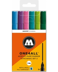 MOLOTOW ONE4ALL 127HS Marker - 6er Basic Set 2