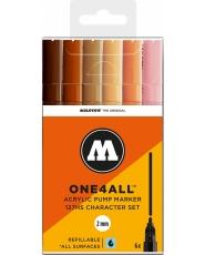MOLOTOW ONE4ALL 127HS Marker - 6er Character Set