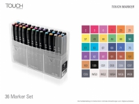 Touch Twin Marker - 36er Set