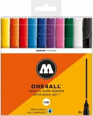 MOLOTOW ONE4ALL 127HS Marker - 10er Basic Set 1