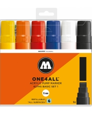 MOLOTOW ONE4ALL 627HS Marker - 6er Basic Set 1