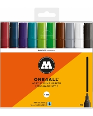 MOLOTOW ONE4ALL 227HS Marker - 10er Basic Set 2