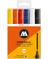 MOLOTOW ONE4ALL 227HS Marker - 6er Basic Set 1