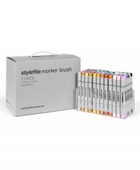 Stylefile Marker Brush - 72er Set - Main