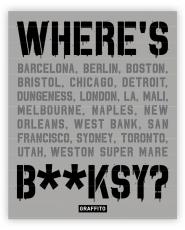 Where's Banksy - Buch